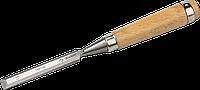 ЗУБР Классик стамеска-долото с деревянной рукояткой, 6мм 16