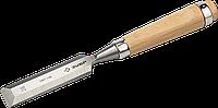 ЗУБР Классик стамеска-долото с деревянной рукояткой, 6мм 28