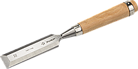 ЗУБР Классик стамеска-долото с деревянной рукояткой, 6мм 32