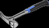ЗУБР ТИТАН 580 г молоток-гвоздодёр цельнокованый столярный, фото 1