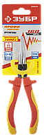 """Круглогубцы """"ПРОФИЭЛЕКТРИК"""", диэлектрические, двухкомпонентная маслобензостойкая рукоятка, до ~1000В, 160мм,"""