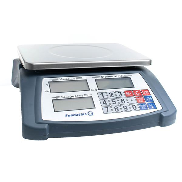 Торговые весы Foodatlas YZ-506 (15кг/1гр)