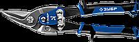 ЗУБР ПРОФЕССИОНАЛ Левые ножницы по металлу, 250 мм, фото 1
