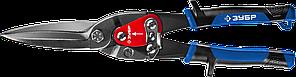 ЗУБР ПРОФЕССИОНАЛ Прямые удлинённые ножницы по металлу, 300 мм