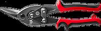ЗУБР Левые ножницы по металлу, 250 мм, фото 1
