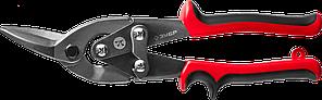 ЗУБР Левые ножницы по металлу, 250 мм