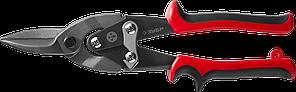ЗУБР Прямые ножницы по металлу, 250 мм