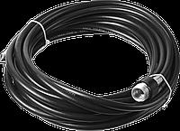 Шланг для прочистки труб для минимоек, ЗУБР 70414-375-8, 8м, для пистолета 375 серии, фото 1