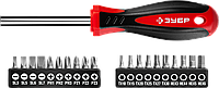 """Набор: Битодержатель с битами """"МВ-21"""", ЗУБР Мастер 25161-H21, Cr-V сталь, 21 предмет, фото 1"""