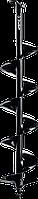 Шнек для мотобуров, грунт, d=100 мм, однозаходный, ЗУБР 150, Для мотобуров ЗУБР МБ1-150, МБ1-200, МБ1-200 Н,, фото 1