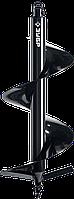 Шнек для мотобуров, грунт, d=100 мм, однозаходный, ЗУБР 300, Для мотобуров ЗУБР МБ2-300, МБ2-300 Н, фото 1