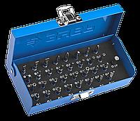 Набор ЗУБР: Биты с магнитным адаптером и переходником, хромомолибденовая сталь, 33 предмета