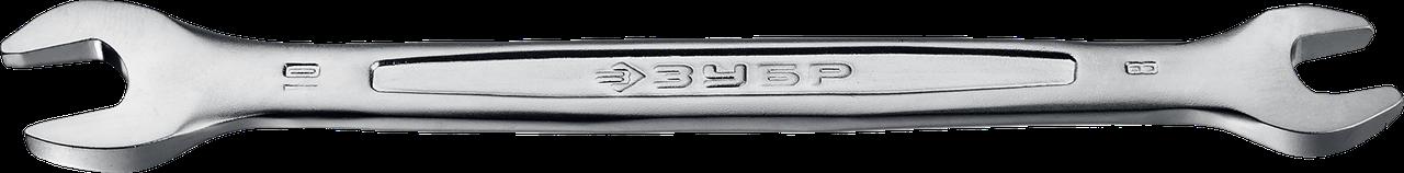 Рожковый гаечный ключ 6 x 7 мм, ЗУБР 139