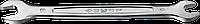 Рожковый гаечный ключ 6 x 7 мм, ЗУБР 139, фото 1
