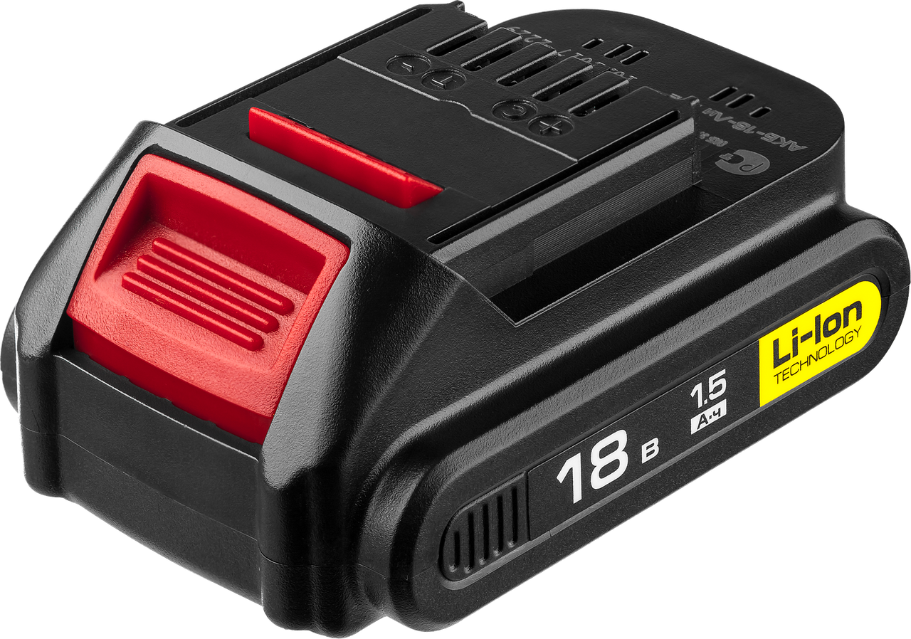 Аккумуляторная батарея 18 В, Li-Ion, 1.5 Ач, ЗУБР