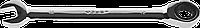 Комбинированный гаечный ключ трещоточный 8 мм, ЗУБР 172, 12, фото 1