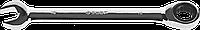 Комбинированный гаечный ключ трещоточный 8 мм, ЗУБР 212, 16, фото 1