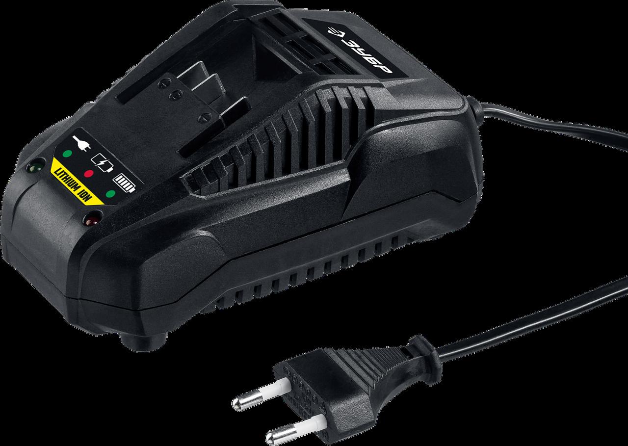 БЗУ-18 С1 Зарядное устройство 14.4-18 В, 2.4 А, для Li-Ion АКБ, ЗУБР