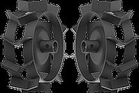 ЗУБР ГР-270 грунтозацепы для культиваторов , 270х90 мм, набор 2 шт., фото 1