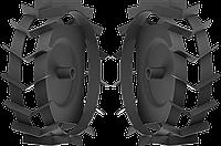 ЗУБР ГР-460 грунтозацепы для мотоблоков, 460х160 мм, набор 2 шт, фото 1