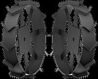 ЗУБР ГР-600 грунтозацепы для мотоблоков, 600х130 мм, набор 2 шт, фото 1