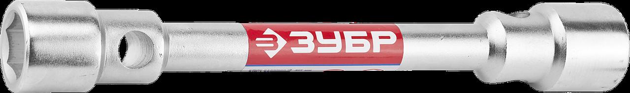 """Ключ баллонный торцовый ЗУБР """"Мастер"""" двухсторонний, 22х38мм 355, 30 х 32"""