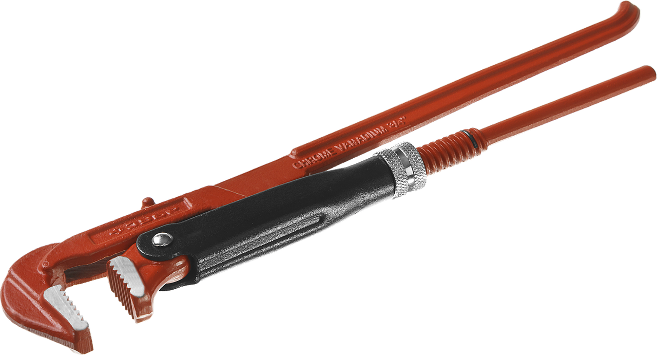 ЗУБР Мастер-90, №0, ключ трубный, прямые губки