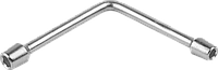 "Ключ торцовый ЗУБР ""Мастер"" двухсторонний L-образный, 8х10мм"