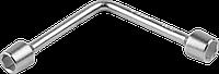 """Ключ торцовый ЗУБР """"Мастер"""" двухсторонний L-образный, 8х10мм 14 х 15"""