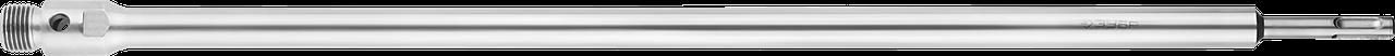 Державка ЗУБР для бур коронки с хвостовиком SDS Plus, конусное крепление центров сверла, L 450мм, резьба М22
