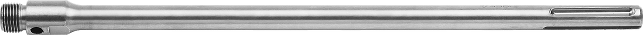 Державка ЗУБР для бур коронки с хвостовиком SDS MAX, конусное крепление центров сверла, L 450мм, резьба М22