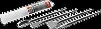 ЗУБР SDS-plus Набор зубил 250 мм, 4 шт, фото 1