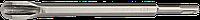 ЗУБР SDS-plus Зубило-штробер полукруглое 22 x 250 мм