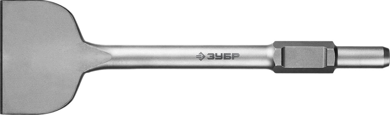 ЗУБР БУРАН HEX 30 Зубило лопаточное 125 х 400 мм