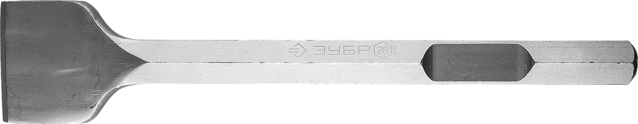 ЗУБР HEX 28 Зубило лопаточное 80 х 400 мм
