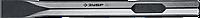 ЗУБР HEX 28,6 (Макита тип) Зубило плоское 35 х 400 мм, фото 1