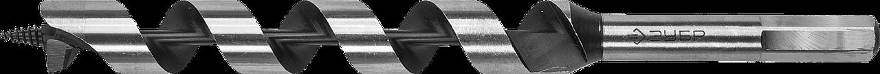 ЗУБР 8x235/160мм, сверло левиса по дереву, шестигранный хвостовик 18, Сталь 65, 12.5