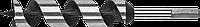 ЗУБР 8x235/160мм, сверло левиса по дереву, шестигранный хвостовик 32, Сталь 65, 12.5