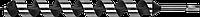 ЗУБР 30x450/360мм, сверло левиса по дереву, шестигранный хвостовик