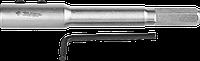 ЗУБР 140 мм, удлинитель для сверл левиса, HEX 12.5 мм, фото 1