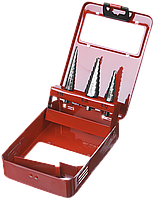 ЗУБР 3 шт., 3-20мм, набор сверл ступенчатых, сталь Р4М2, фото 1