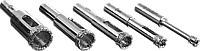 Набор сверл алмазных трубчатых по кафелю и стеклу, d=4, 6, 8, 10, 12 мм, 5 предметов, ЗУБР Профессионал, фото 1