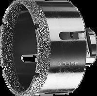 ЗУБР коронка алмазная по керамограниту, вакуумное спекание алмазов, d=14 мм, посадка М14, Профессионал 73, фото 1