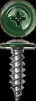 Саморезы ПШМ для листового металла, 16 х 4.2 мм, 500 шт, RAL-3005 темно-красный, ЗУБР 25, 400, RAL 6005