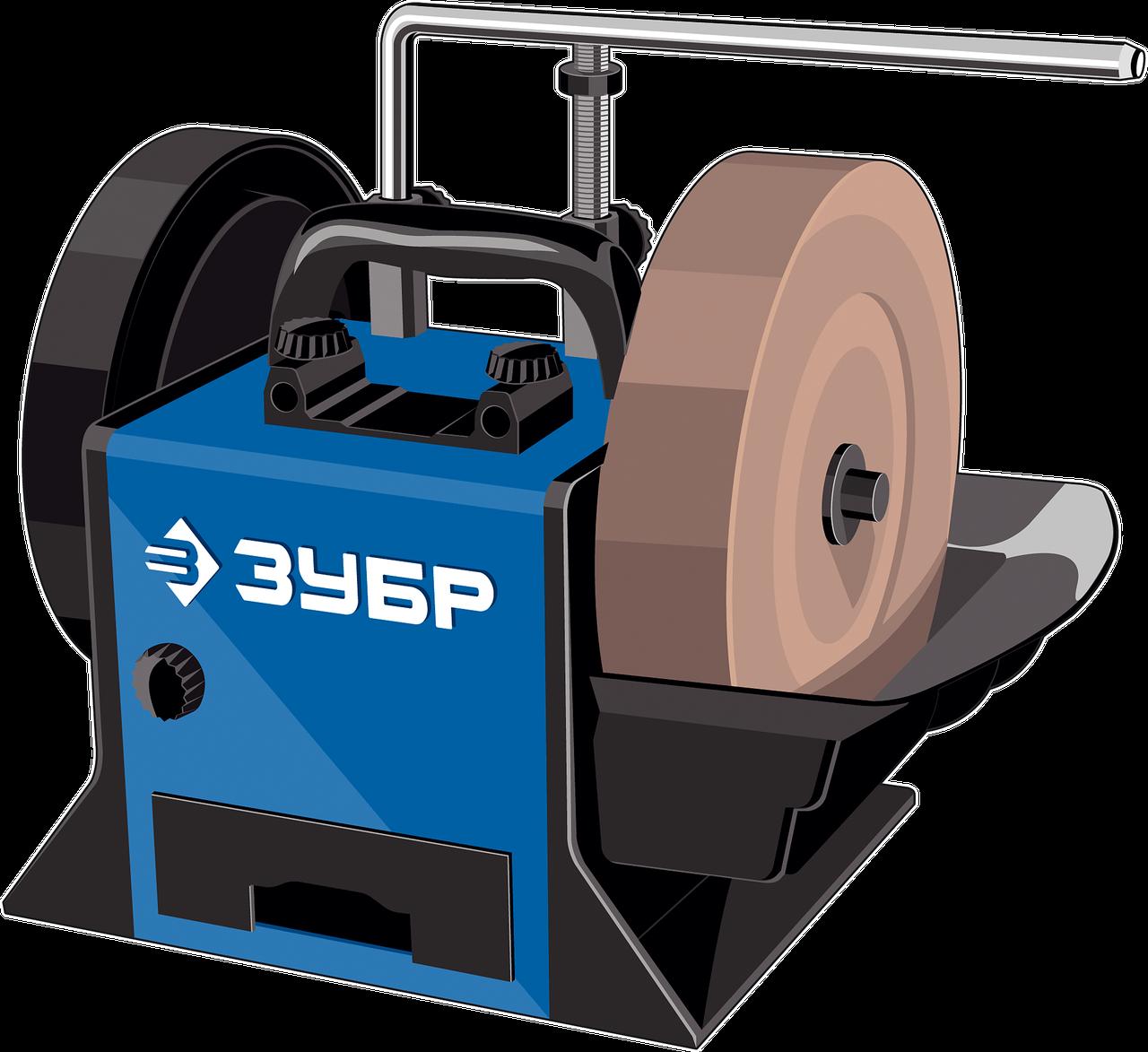 ЗУБР ППС-250 шлифовально-полировальный станок, d 250 мм, 160 Вт