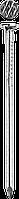 Гвозди строительные ГОСТ 4028-63, 50 х 2.5 мм, 5 кг, ЗУБР