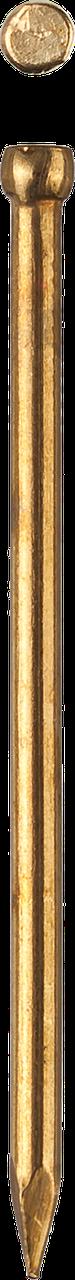 Гвозди финишные, с латунным покрытием, 25 х 1.4 мм, 50 шт, ЗУБР 1.8, 40, 40