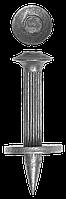 Дюбель гвоздевой оцинкованный, с насаженной шайбой, 30 х 3.7 мм, 15 шт, ЗУБР 40