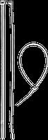 Кабельные стяжки белые КС-Б1, 12 x 750 мм, 50 шт, нейлоновые, ЗУБР Профессионал