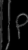 Кабельные стяжки черные КС-Ч1, 12 x 750 мм, 50 шт, нейлоновые, ЗУБР Профессионал 350, 55, 7.6